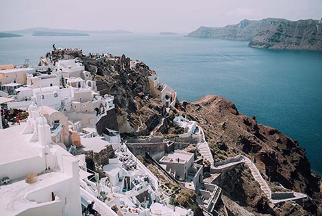 sightseeing santorini