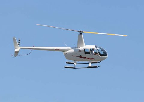 greece helicopter charter